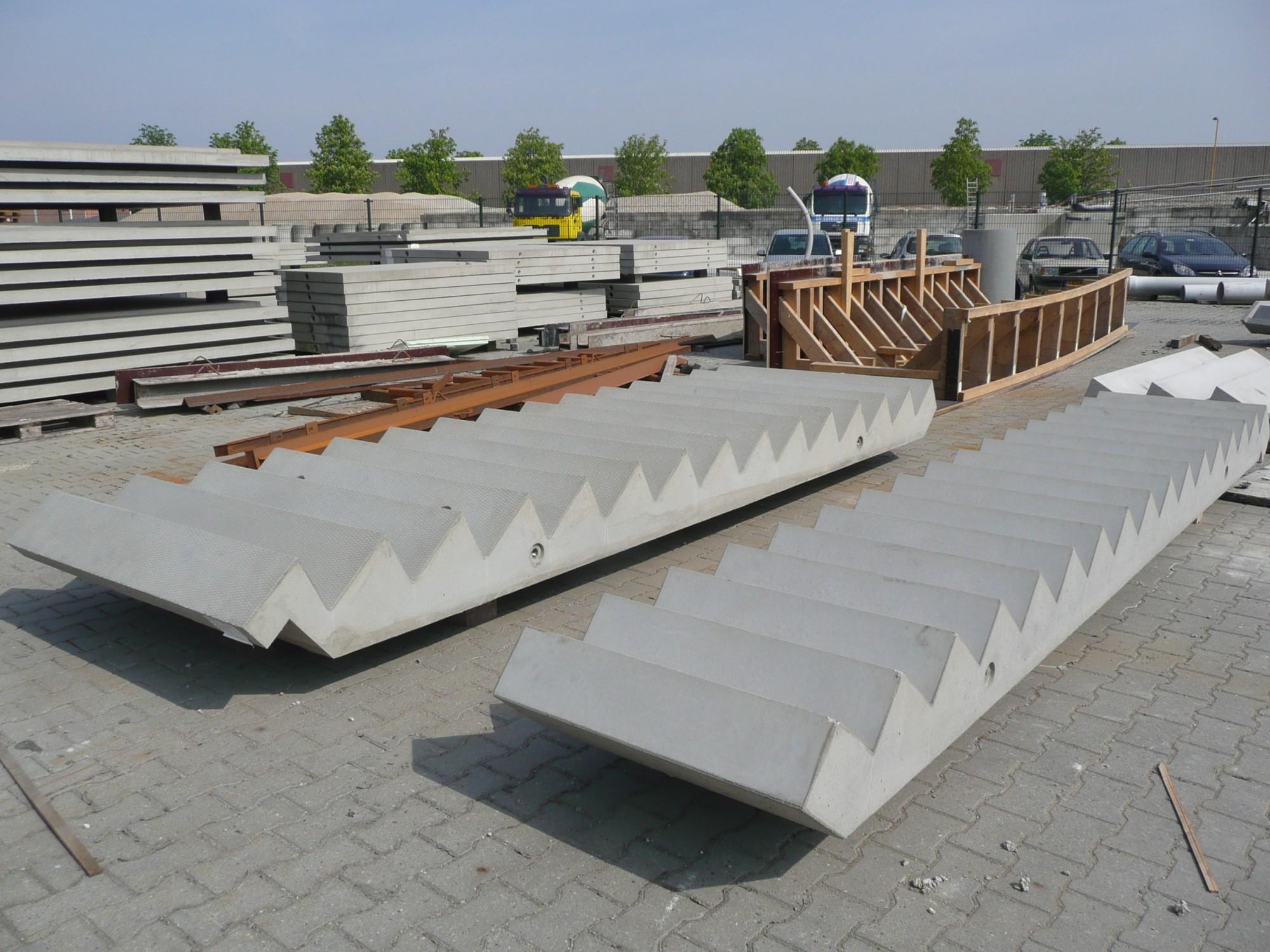 Prefab betontrappen